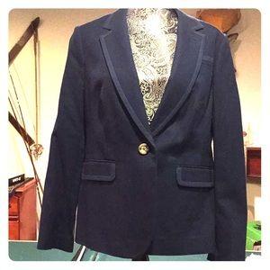 Classic navy blue blazer by Boden